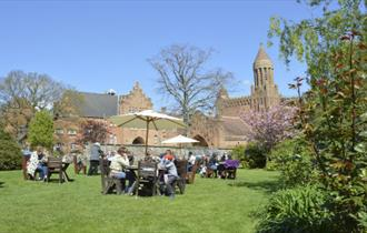 Quarr Abbey Teashop
