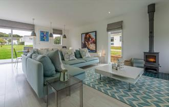 Lounge in Richmond Cottage at The West Bay Club & Spa - Self Catering, Isle of Wight.