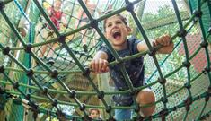 Adventure nets at Robin Hill - Things to Do, Isle of Wight.