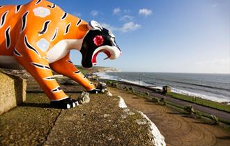 #25 - Hear lions and tigers roar as the waves crash on the shore at Isle of Wight Zoo
