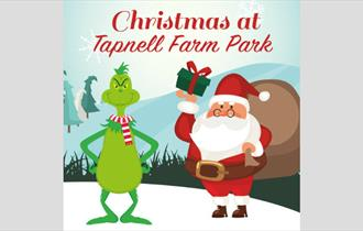 Isle of Wight, Christmas Event, Tapnell Farm, Yarmouth