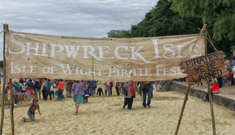 Isle of Wight, Shipwreck Isle, Events, Pirates, Family Fun
