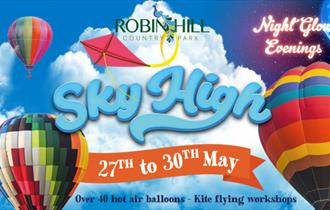 Isle of Wight, Things to Do, May Bank Holiday, Robin Hill Country Park, Hot Air Balloons