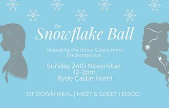Isle of Wight, Things to Do, Childrens Event, RYDE, Snowflake Ball