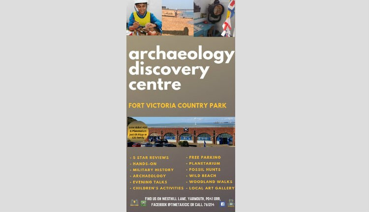 Archaeology Discovery Centre events at Fort Victoria in Yarmouth - What's On, Isle of Wight