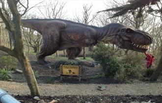 Dinosaurs at Blackgang Chine