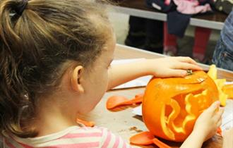 Pumpkin activities at Whitecliff Bay Holiday Park - What's On, Isle of Wight