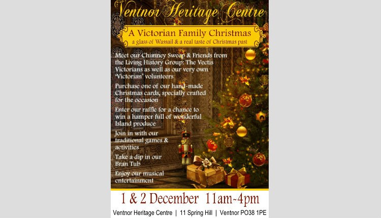 Isle of Wight, Victorian Christmas, Ventnor Heritage Centre, Things to Do
