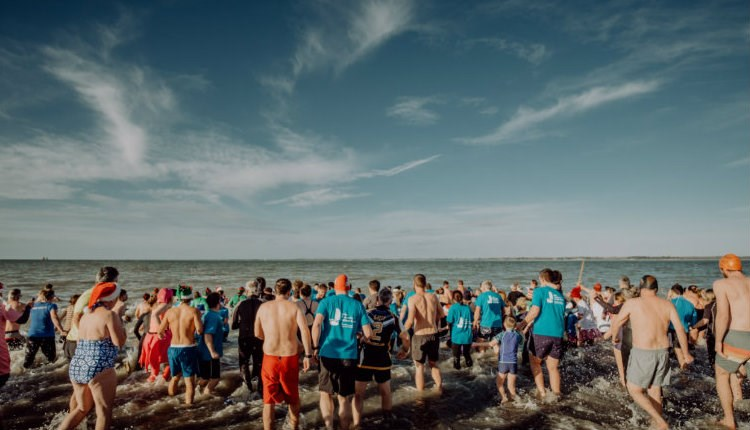 Isle of Wight, Christmas Event, Boxing Day Dip, Ellen Macarthur