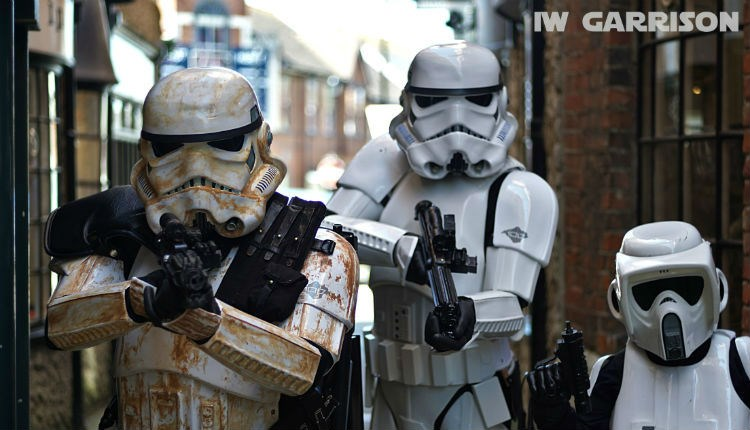 Star Wars figures at Fan TC Con event - What's On Isle of Wight
