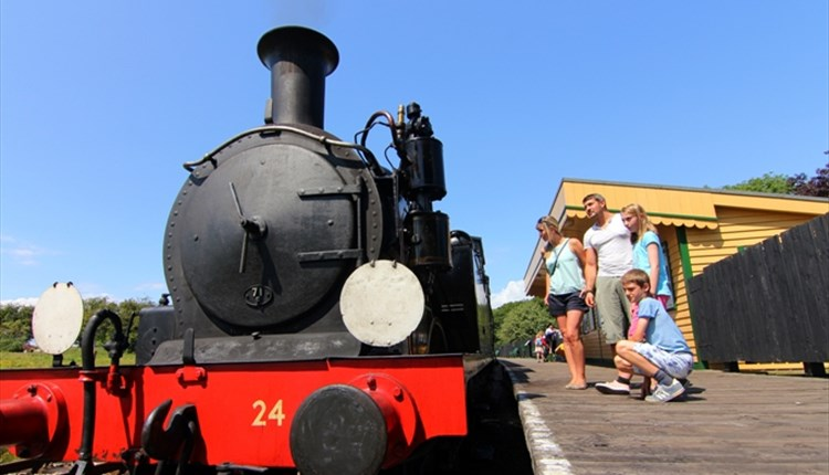 #18 - Take a train ride back through time at the Isle of Wight Steam Railway