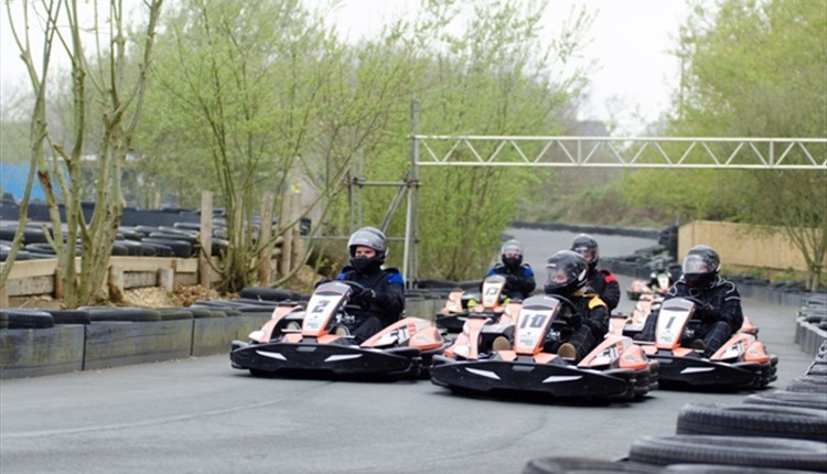 #3 - Smash the lap record on an all-weather karting track