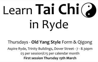 Isle of Wight, Health and Wellbeing, Something to Do, Tai Chi