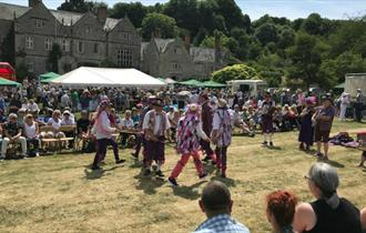 Isle of Wight, Things to Do, Shorwell Fair, Traditional Country Fair, Dancers
