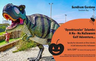 Isle of Wight, Things to Do, October Half Term, Halloween Crazy Golf, Sandham Gardens, SANDOWN