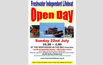 Isle of Wight, Things to Do, RNLI, Event, Freshwater Bay