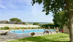 Isle of Wight, Camping and Caravan, Holiday Park, Accommodation, Swimming Pool