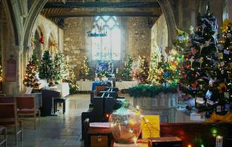 The 22nd Brighstone Christmas Tree Festival