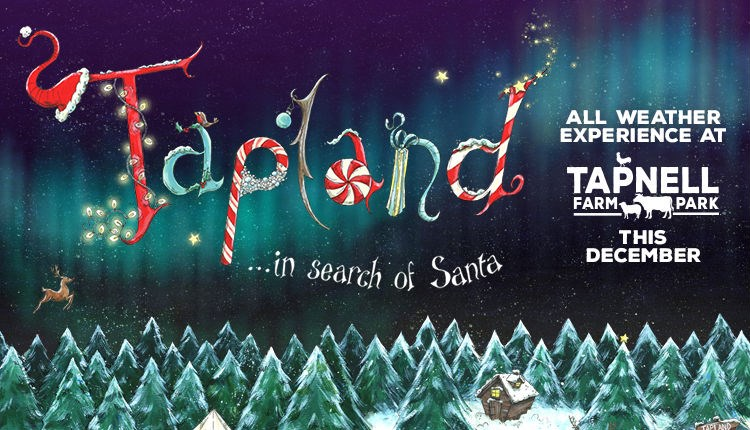 Christmas, family Tapland event at Tapnell Farm Park, Yarmouth, Isle of Wight, What's On