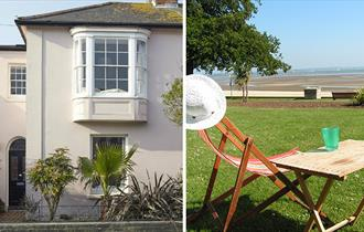 Ryde, Isle of Wight, Accommodation, Self Catering, Tea Tree Cottage, beach hut at Appley Beach