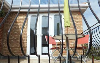 Isle of Wight, Accommodations, Self Catering, Apartments, Sandown, Terrace
