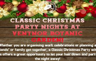 Isle of Wight, Christmas Parties, Ventnor Botanic Gardens